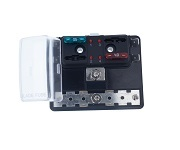 LED Fuse Block with Grounding pad, BLR-I-304-G